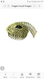 """1-1/4 INCH """" Galvanized Roofing Nail's .125 per coil"""
