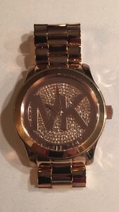 Michael Kors Rose Gold Stainless Watch