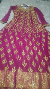 Soft net Indian style dress