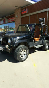 2 jeeps TJ's For Sale, both need work