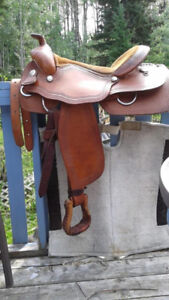 Western Reining Saddle for sale