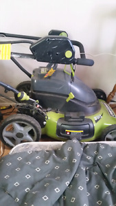 MOWER WITH BAG