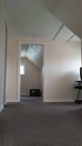 Loft with 1 bdrm, sitting rm and small kitchenette.