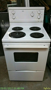 "Apartment size Electric Stove , Roper, (by Whirlpool) 24""wide, a"