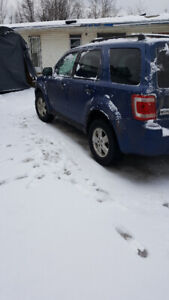 2008 ford escape read ad first