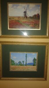 framed prints and paintings - downsizing