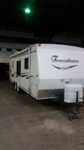2001 24ft Travelaire Pull Behind Trailer