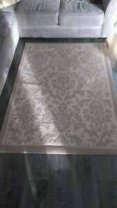 Homesense Area Rug - 5 x 4 - Cream