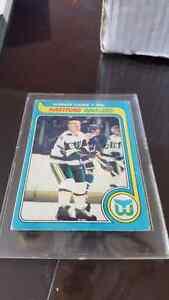 Gordie howe carte hockey card