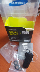 Samsung Bluetooth Headset HM1200 straight talker