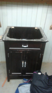 Cabinet  and sink  for  sale
