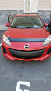2012 - MAZDA 3 - 5 speed manual