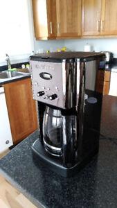 Cuisinart black chrome coffee maker