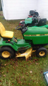 looking to buy a john deere or craftsman mower that needs work