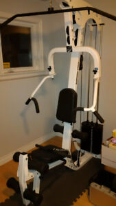 FOR SALE - Home Gym with 220 lb. Stack