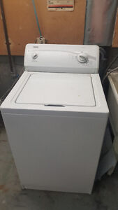 Kenmore Washer and GE Dryer