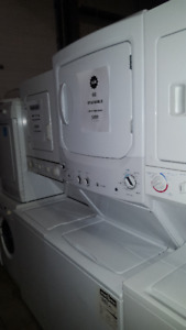 """STACKABLE WASHER DRYER 27"""" ELECTROLUX GE WHIRLPOOL"""