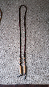 Hand made leather reins