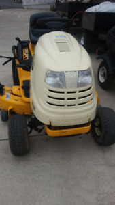 21 HP Cub Cadet lawn tractor with mower