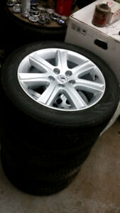 215 55 17 Michelin XIce on OEM Chevy Cruze alloy rims 5 x 105