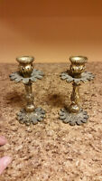 *Antique* Brass Candle Sticks-