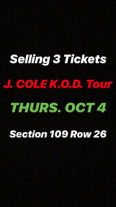 J. COLE K.O.D. TICKETS FOR SALE