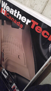 Weather tech fitted mats for a mitsubishi mirage