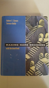 Making Hard Decisions with Decision Tools 2nd edition