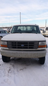 1995 ford 4x4 service truck $1000