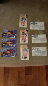 9 TICKETS TO SPORTSPLEX, 3 FAMILY SWIM, 3 SKATTING, 3 DAY PASS