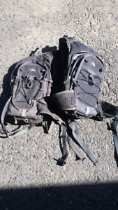 Riding or running packs