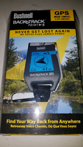 PERSONAL GPS - BUSHNELL BACKTRACK POINT 5 ☆NEW☆