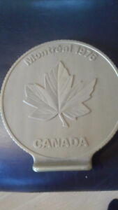 OLYMPIC 1976 MONTREAL PLASTIC COIN BANK
