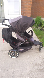 Phil and Teds explorer double stroller