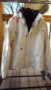 Ski/snowboard coat Womens L Section 2 in 1 Division Component