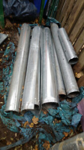 Ducting pipe, assorted lengths, furnace/ac