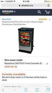 Master built 30 inch electric smoker