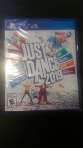 NEW! SEALED PS4 JUST DANCE 2019 $45 NO TRADES