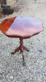 Mahogany French Style pedestal Wine Table