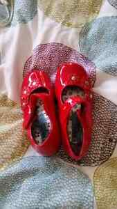 Little Red Shoes Size 6