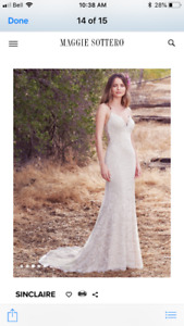 Maggie Sottero dress wedding dress ONLY $1000