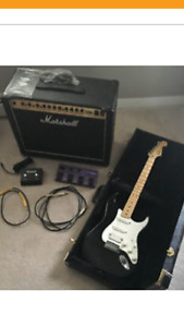 PACKAGE DEAL -Marshall/fender/pedal etc