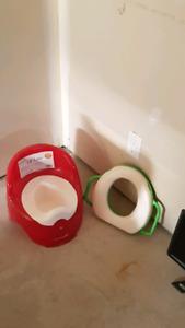 Pot bébé et siège toilette