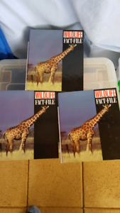 Wild life fact file books