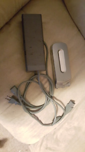 Xbix 360 power cable and hard drive