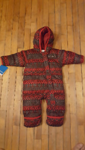 Snowsuit Snuggly bunny bunting
