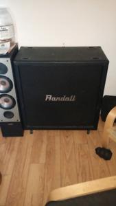 200 watt randall 4*12cabinet with celestion speakers