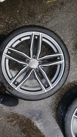 19 inch rs6 style alloys