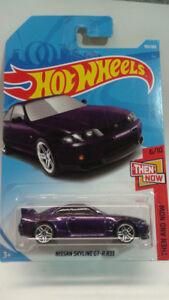 Hotwheels Nissan Skyline GT-R R33 Purple
