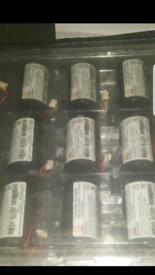 13Ah Lithium batteries 3.65v each - New